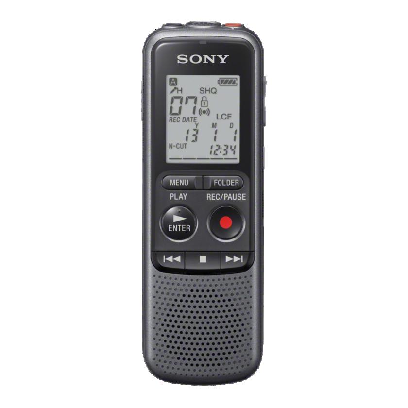 Sony dig. diktafon ICD-PX240, černý, 4GB, PC