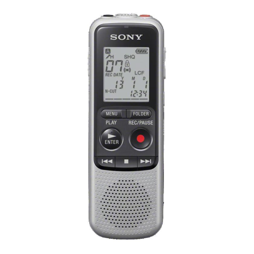 Sony dig. diktafon ICD-BX140, stříbrný, 4GB