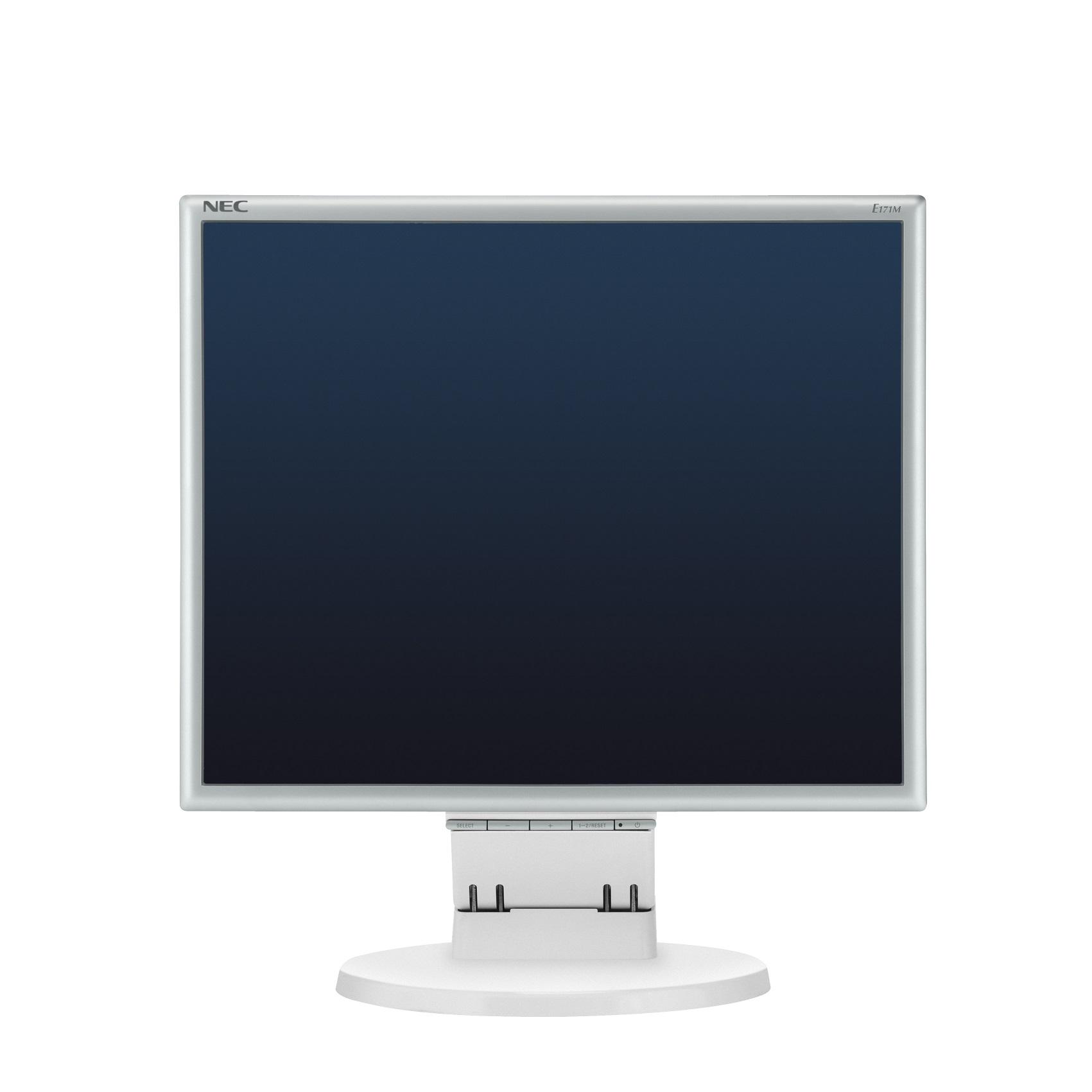 """17"""" LED NEC E171M, 1280x1024, TN, 250cd, 50mm, WH"""