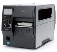 """Zebra ZT410, 4""""203dpi, Ser, USB, BT, Peel, Full Rewind"""