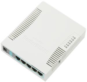 Mikrotik RB951G-2HnD, 600MHz, 128MB RAM, RouterOS L4