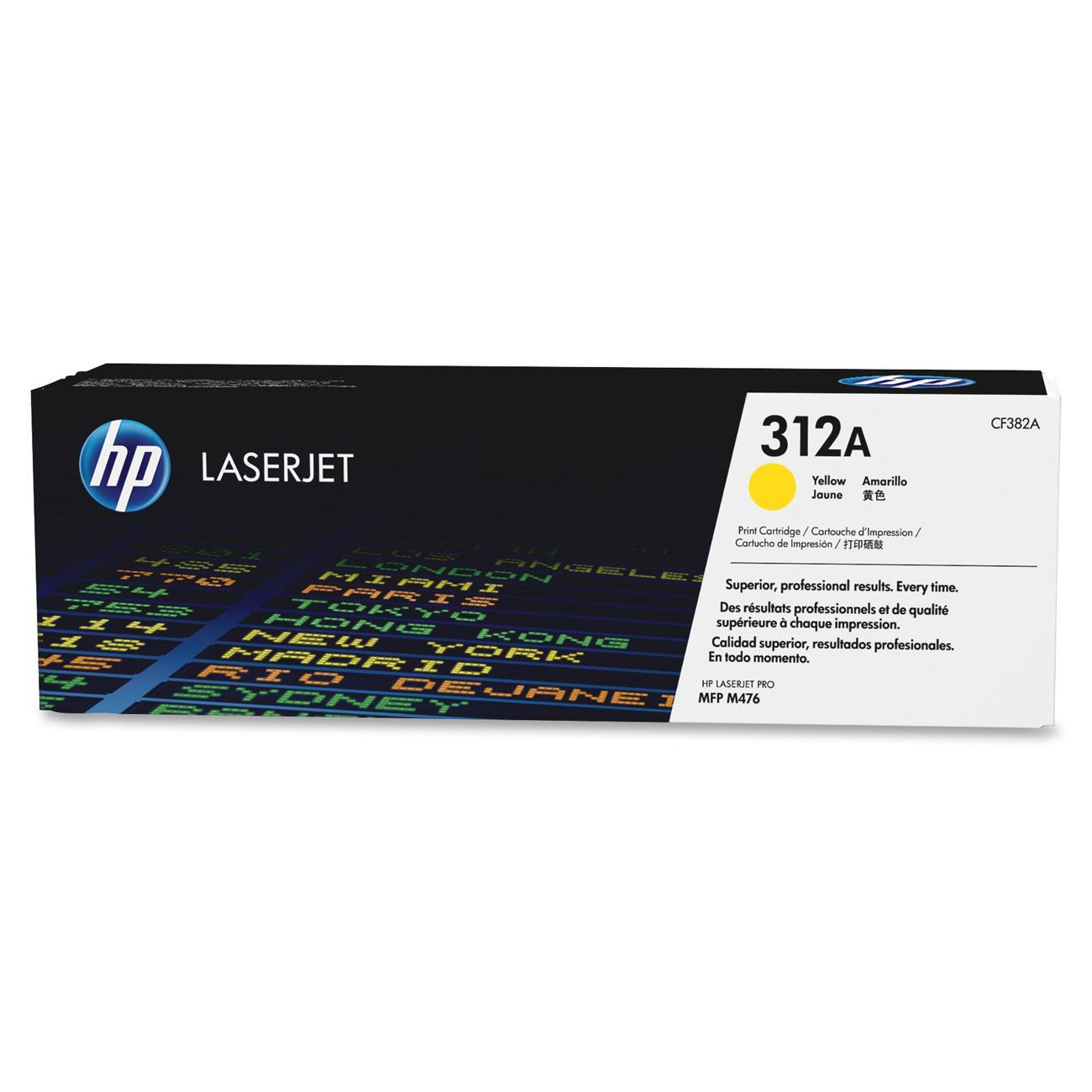 HP tisková kazeta žlutý, CF382A
