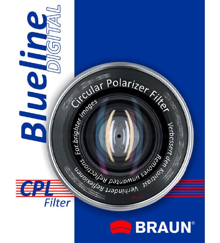 Braun C-PL BlueLine polarizační filtr 46 mm