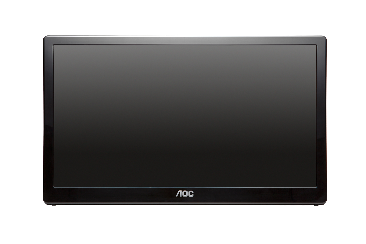"16"" LED AOC E1659FWU - 1366x768, USBpower, piv"