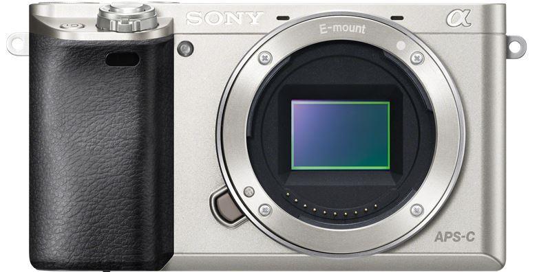 Sony A6000, jen tělo, 24, 3Mpix, stříbrný