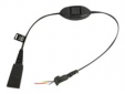 Jabra QD cord - Ascom Mute function (bez konekt)