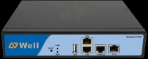 Yeastar NeoGate TE100 IP ISDN30 brána, 1xPRI, 1xLAN