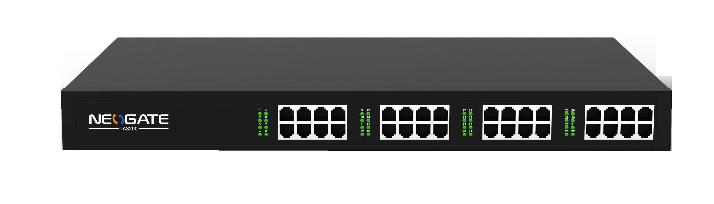 Yeastar NeoGate TA3200 IP FXS brána, 32xFXS, 2xRJ21, 1xLAN, rack