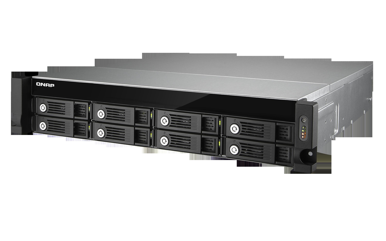 QNAP TVS-871U-RP-I3-4G (3, 5G/ 4GB RAM/ 8xSATA)