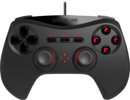 STRIKE NX Gamepad - for PS3, black