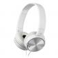 SONY sluchátka MDR-ZX110 s Noise canceling, bílé
