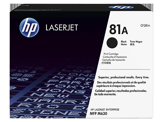 HP 81A tisková kazeta černá, CF281A