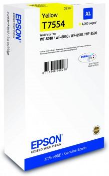 Epson Ink cartridge Yellow DURABrite Pro, size XL
