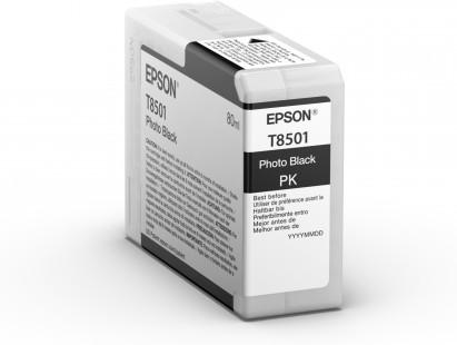 Epson Singlepack Photo Black T850100 UltraChrome HD ink 80ml