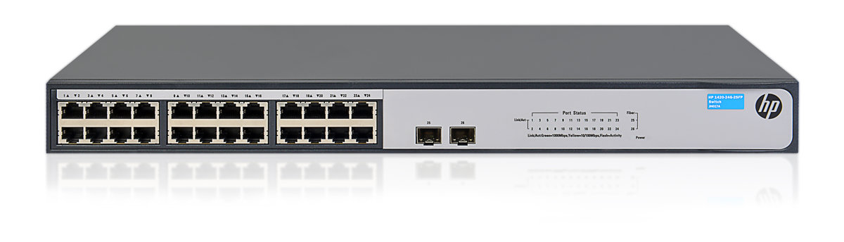 HPE 1420 24G 2SFP+ Switch