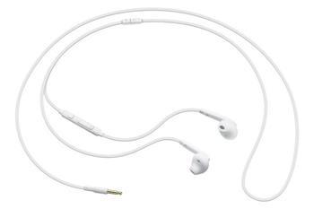 Samsung sluchátková sada stereo s ovládáním EO-EG920B, konektor 3, 5 mm, bílá