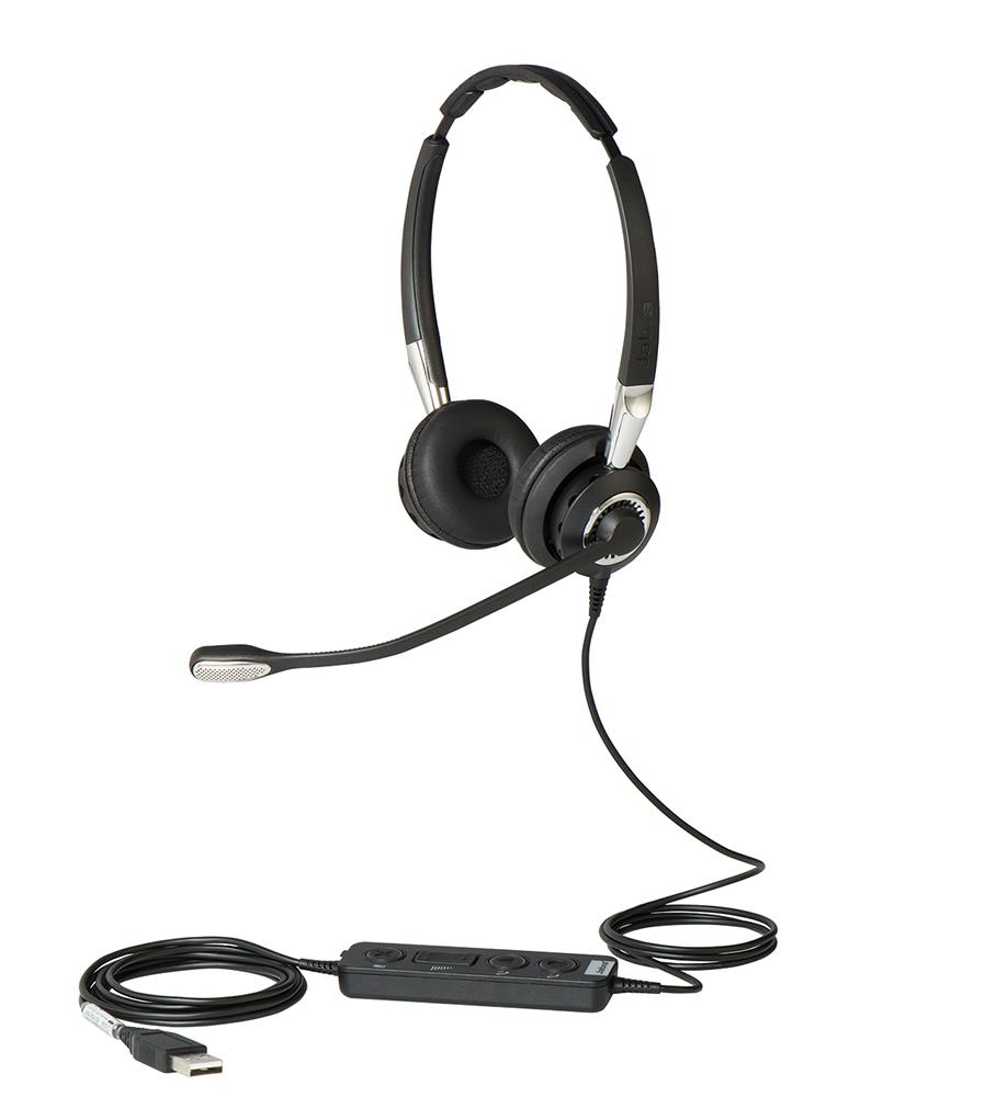 Jabra BIZ 2400 II, Duo, USB, E-STD, NC, FS