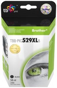 Ink. kaz. TB komp. s Brother LC529/ 539 PIG BK Nová