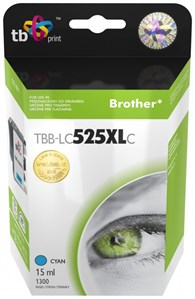 Ink. kaz. TB komp. s Brother LC525/ 535 CYAN Nová
