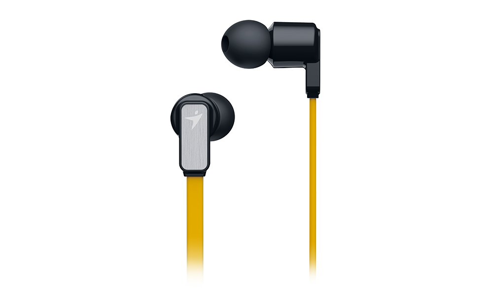 Sluchátka Genius HS-M260 mobile headset, yellow
