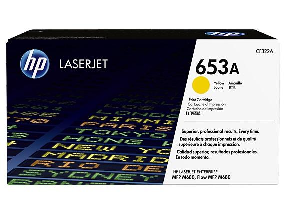 HP tisková kazeta žlutá, CF322A