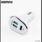 Remax autoadaptér 6, 3 A - bílá barva