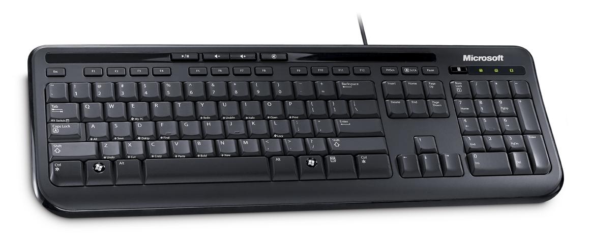 Obrázok produktu Microsoft Wired Keyboard 600 USB, CZ