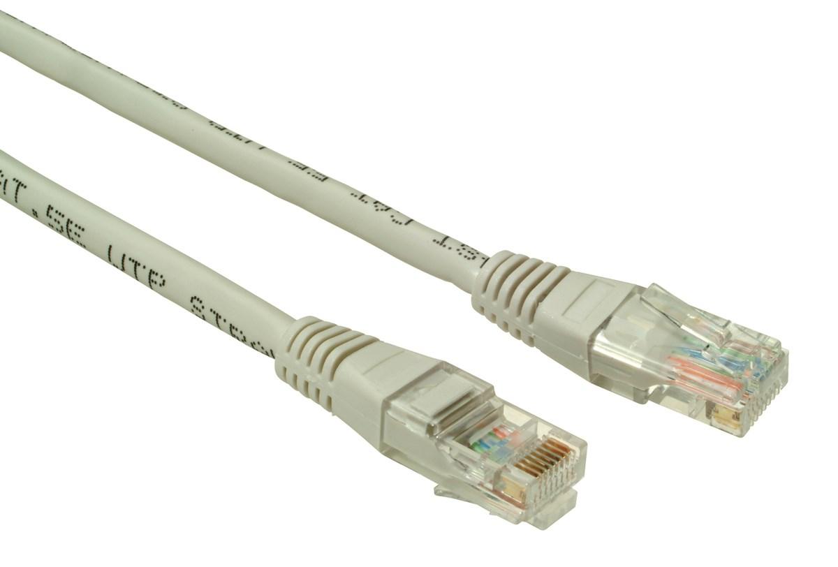 SOLARIX patch kabel CAT6 UTP PVC 0, 5m šedý non-snag proof