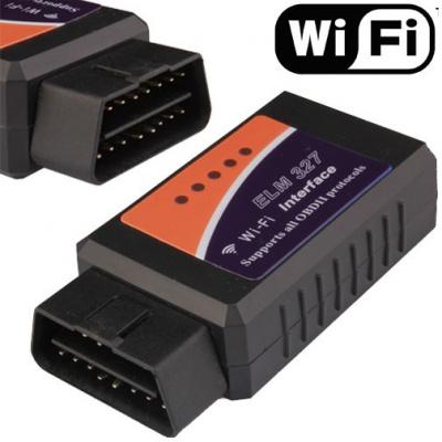 Automobilová diagnostická WIFI jednotka pro OBD II pro Apple, Android, Windows phone (ekv.ELM 327)