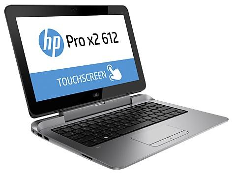 "Obrázok produktu HP Pro x2 612 G1 12.5"" HD/ i3-4012Y/ 4GB/ 128SSD/ DP/ VGA/ RJ45/ BT/ WIFI/ MCR/ FPR/ 1RServis/"