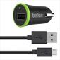 BELKIN Micro USB autonabíječka, 5V, 1A, černá