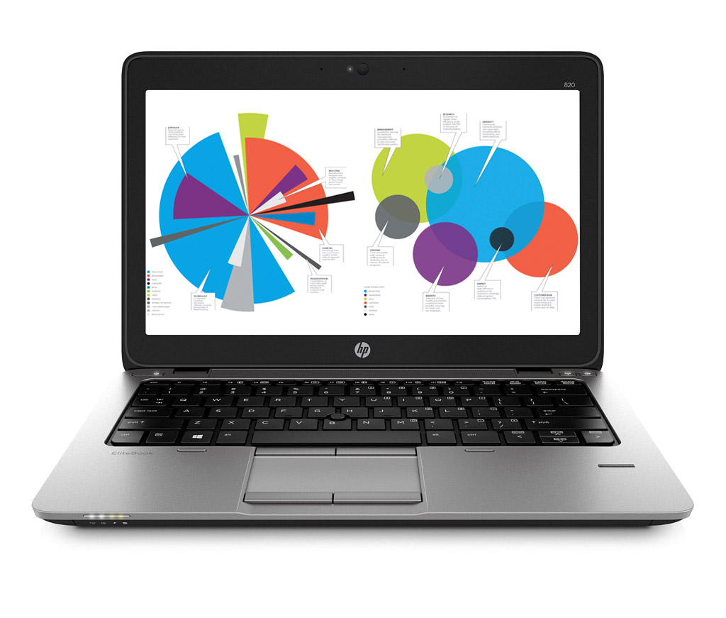 HP EliteBook 820 G2 12, 5HD/ i5-5200U/ 4G/ 500+32/ 7+10P