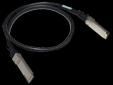 HPE X242 40G QSFP+ to QSFP+ 1m DAC Cable