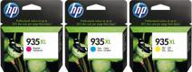 HP 935XL pack C/ M/ Y + 75 listů A4
