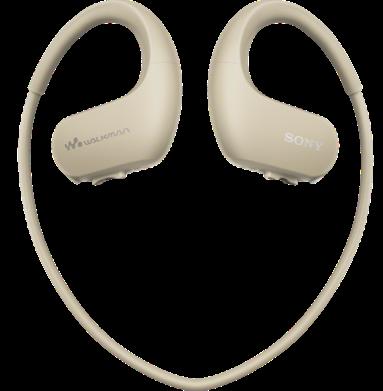 Sony MP3 přehrávač 4 GB NW-WS413 šedý, voděod.