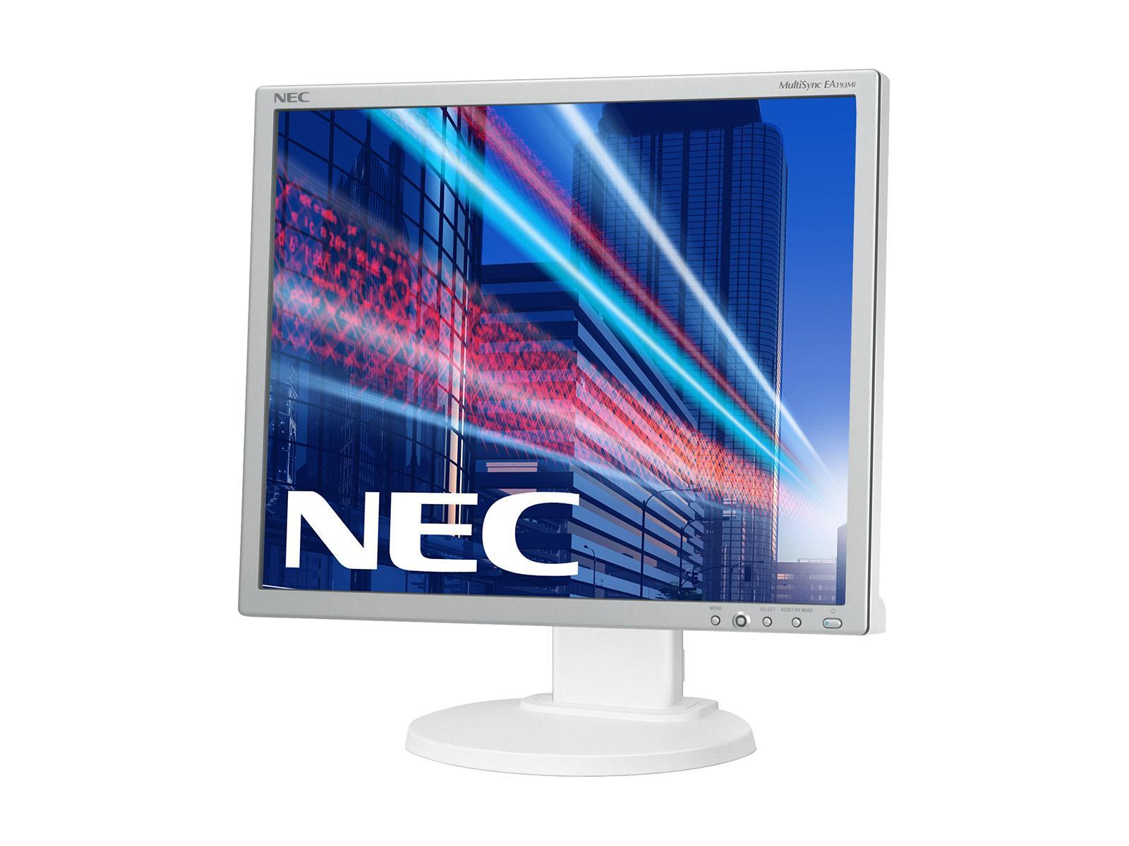 """19"""" LED NEC V-Touch 1925 5U-5-žilový, DVI, USB-bílý"""