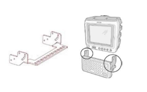 Honeywell Mounting Keyboard Kit-Montážní sada na klávesnici