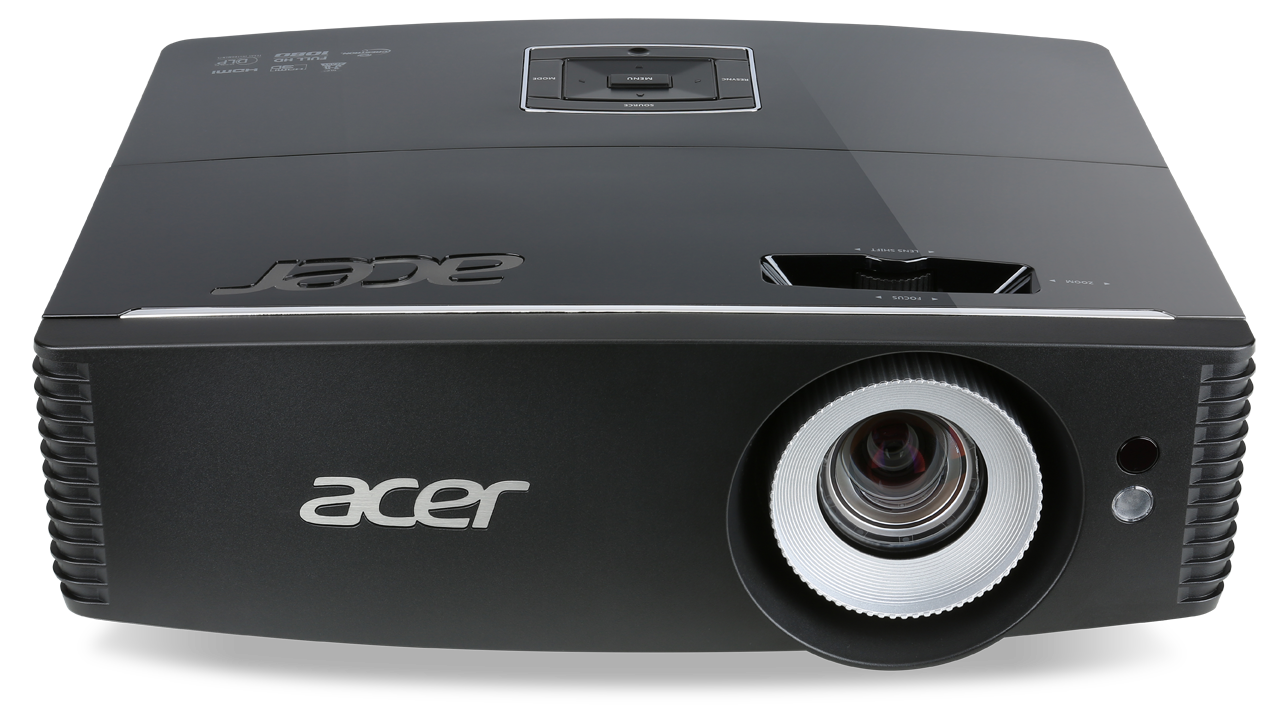 Acer DLP P6500 - 5000Lm, FullHD, 20000:1, HDMI, VGA, RJ45, USB, černý