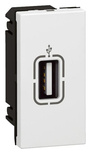 Obrázok produktu MOSAIC zásuvka USB 1M bílá