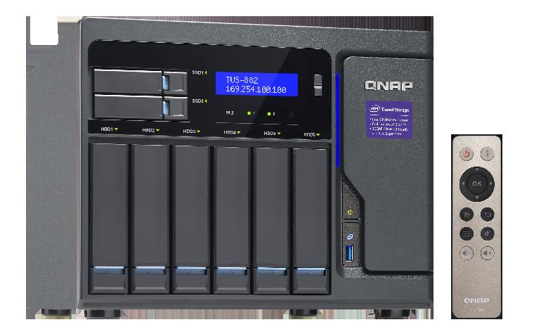 QNAP TVS-882-i5-16G (3, 6G/ 16GB RAM/ 8xSATA/ 3xHDMI)