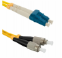 Optický duplex patch 9/ 125 G652D LC/ PC-FC/ PC 2m, OS2