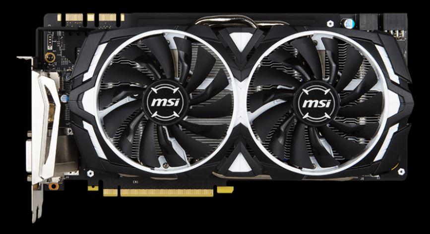 Obrázok produktu MSI GeForce GTX 1080 ARMOR 8G OC