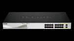 D-Link DXS-1100-16SC 2x10GbE 14xSFP+ switch