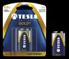 TESLA - baterie 9V GOLD+, 1ks, 6LR61