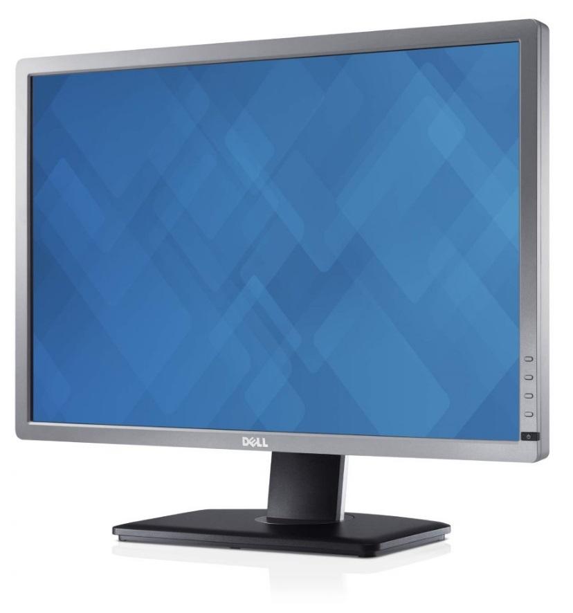 "Obrázok produktu 24"" LCD Dell U2412M UltraSharp IPS 16:10/ Pivot/ DP, Bílý"