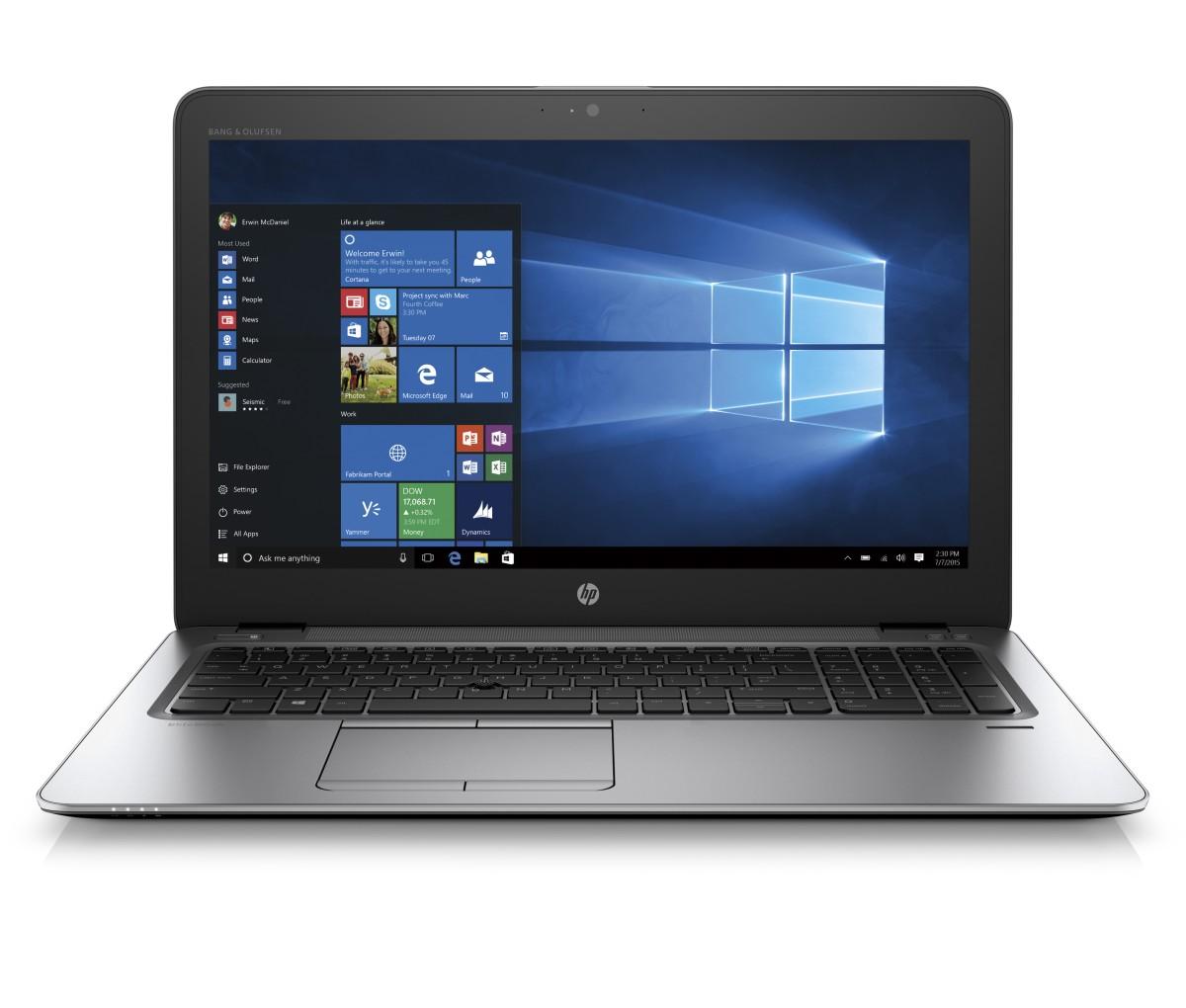 Obrázok produktu HP EliteBook 850 G4 15.6 FHD/ i7-7500U/ 16GB/ 512SSD/ ATI/ 4G/ WIFI/ BT/ MCR/ FPR/ 3RServis/ W10P