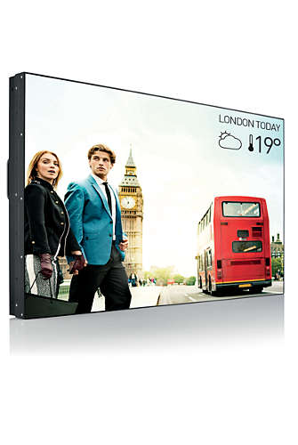 "55"" D-LED Philips 55BDL1005X-FHD, I, 500cd, VW, A, 24/ 7"