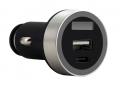FSP/ Fortron Micro CLA USB autonabíječka Shining VD16, 3.1 A, USB*1 & USB-C*1 (pro osobní i nákl