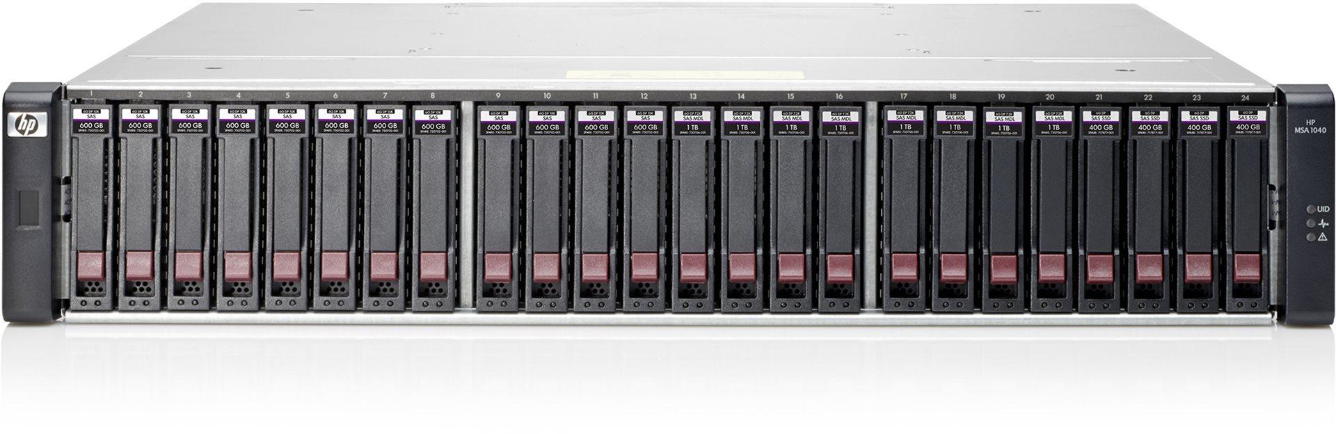 Obrázok produktu HP MSA 1040 1Gb iSCSI 4x600 Bndl/ TVlite