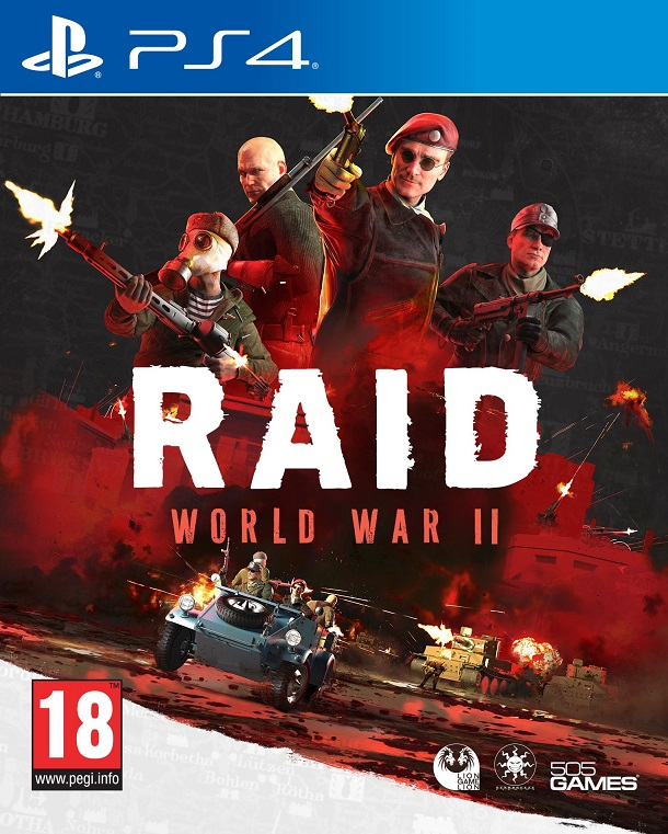PS4 - RAID: World War II